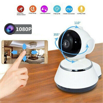 1080P HD Wireless IP Security Camera Indoor CCTV Home Smart Wifi Baby Monitor