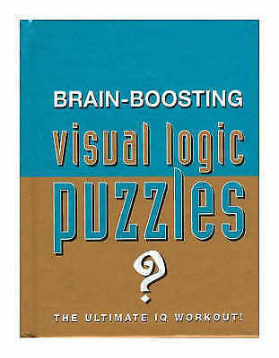 """""""AS NEW"""" Brain Boosting Visual Logic Puzzles (Puzzle Books), , Book"""