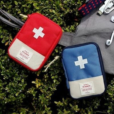 Outdoor Travel First Aid kit Medicine bag Home Small Medical box Emergency Survi