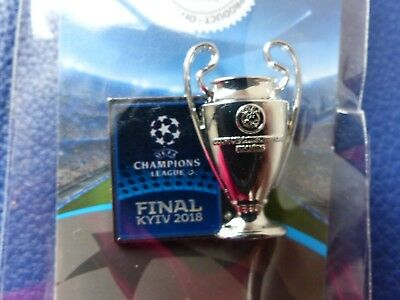 Uefa Champions League Final 2018 Kyiv Kiev Real Madrid Liverpool Official Badge
