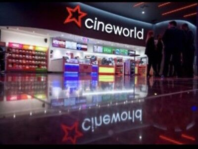 2 x Cineworld 2D & 3D All Uk includimg Leicester Square