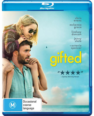 Gifted (Blu-ray, 2017) NEW