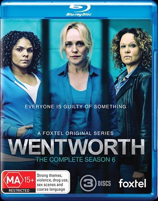 Wentworth - Season 6 Blu-Ray : NEW