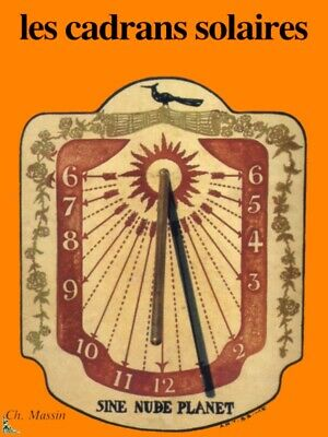 Les Cadrans Solaires, Sundials, French book