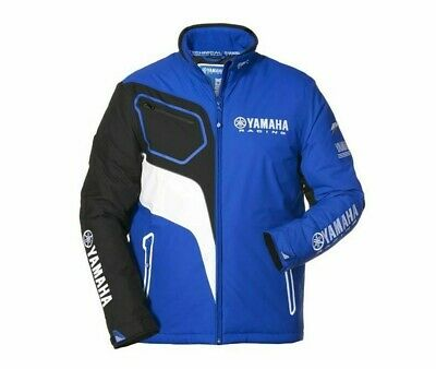 Jacke Yamaha Jacket Paddock Blue Herren Racing GYTR Freizeit Cross MX Enduro
