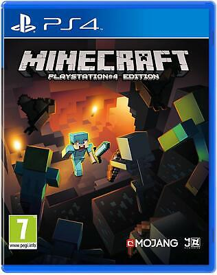 Minecraft - Playstation 4 Edition - Ps4 - New & Sealed