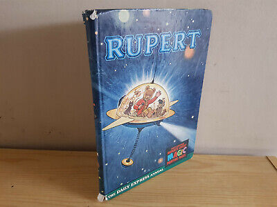 RUPERT ANNUAL 1966 original book  - G