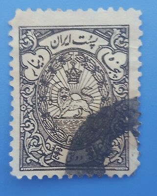 old stamps asian , arabic , lion,
