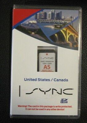 A5 MAP  Ford Lincoln Escape Edge Explorer F150 Navigation SD CARD Sync OEM