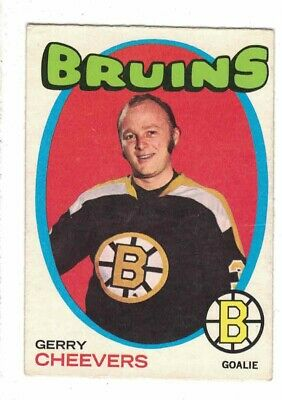 1971 Opc #54 Gerry Cheevers Ex