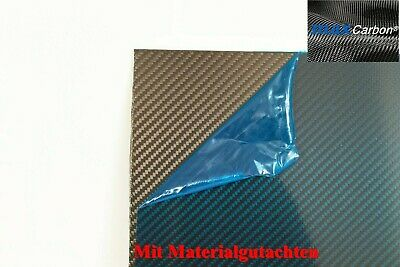 MAX Carbon Platte 1mm 500mm Dick CFK Kohlefaser Voll Carbon Materialgutachten