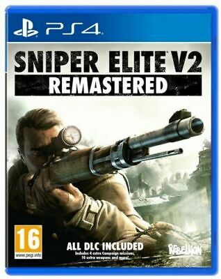 Sniper Elite V2 Remastered Ps4 Videogioco Italiano Gioco Play Station 4 Nuovo