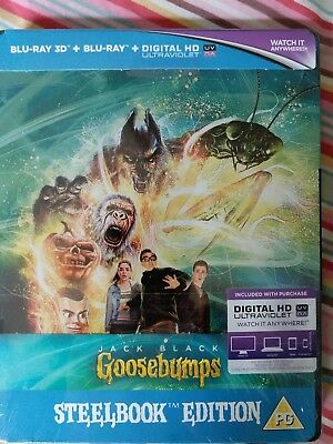 Goosebumps Blu-Ray Steelbook Brand new and sealed