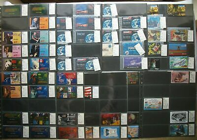 USA Aci GTS Prepaid Set Calling Card Collection 58 Various from 120 Edition