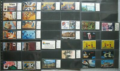 USA Amci Prepaid Set Calling Card Collection 28 Various from 250 Edition