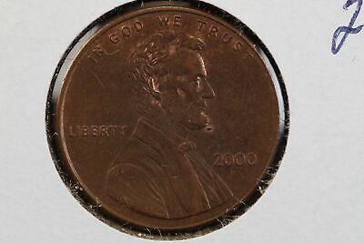 2000 Memorial Cent Wide AM Mint Variety