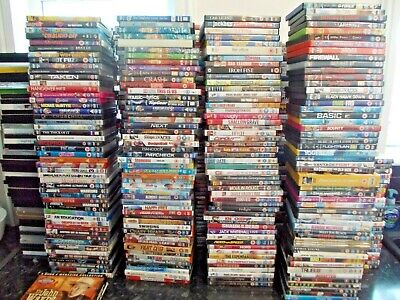 100 Mixed Dvd's Job Lot Perfect For Collector Or Car Boot Or Fair + Boxsets