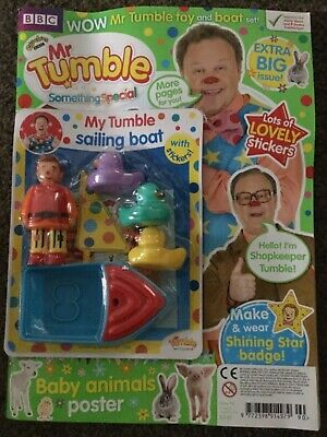 CBeebies Something Special Magazine Issue 90 my tumble sailing boat