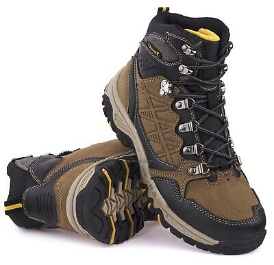 Mens Walking Hiking Trekking Trail Comfy Rambling Ankle New Boots Shoes Sz
