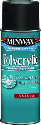MINWAX POLYCRYLIC AEROSOL Finish Water Based Interior Satin