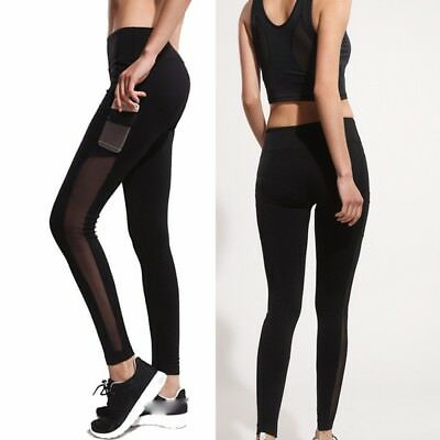 Women Casual Workout Leggings Fitness Sport Gym Running Yoga Athletic Pants New