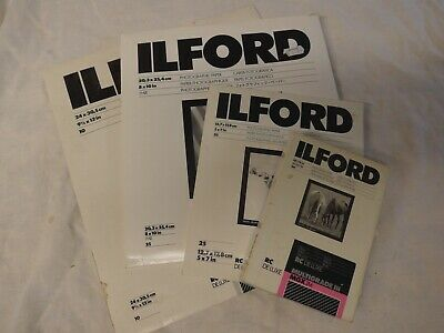 Ilford Photographic Paper, Opened Packets
