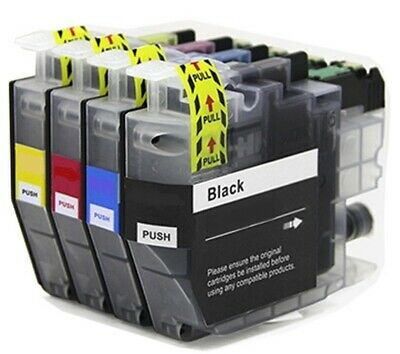 4 x Ink Cartridges Non-OEM Alternative For Brother - LC3235XL - B,C,M