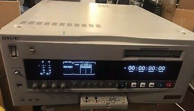 Sony DVCAM DSR-80P Professional Broadcast Digital Player Recorder with SDI