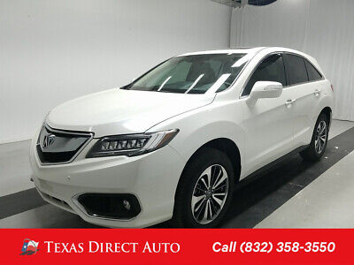 2016 Acura RDX Advance Pkg Texas Direct Auto 2016 Advance Pkg Used 3.5L V6 24V Automatic FWD SUV Premium