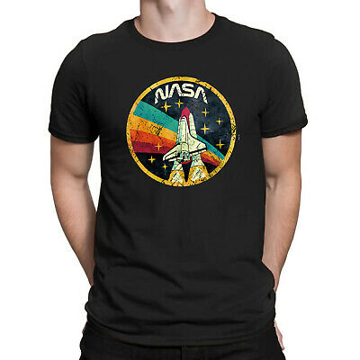 0cf9d2a3 Nasa USA Space Force Agency Retro Vintage Men's T-Shirt gift t shirt for men