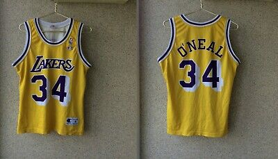 bb5f3bd15c0 Shaquille O'Neal Los Angeles Lakers Jersey S NBA USA Champion Vintage