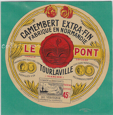 M403 Fromage Camembert Tourlaville  Manche Le Pont Or 1930