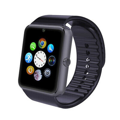 GT08 Bluetooth Smart Watch Sport Wristwatch Support SIM TF For Android Samsung
