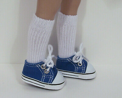 """PURPLE Canvas Tennis CF Doll Shoes For Dianna Effner 13/"""" Little Darling Debs"""