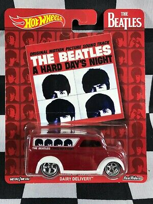 HOT WHEELS Pop Culture THE BEATLES DAIRY DELIVERY REAL RIDERS