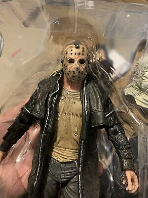 Neca Ultimate 2009 Friday The 13th Jason Mask Repaint And Reshape Commision READ