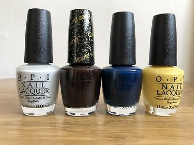 x4 Joblot Wholesale Clearance of OPI Nail Lacquer / Nail polish 15 ml each