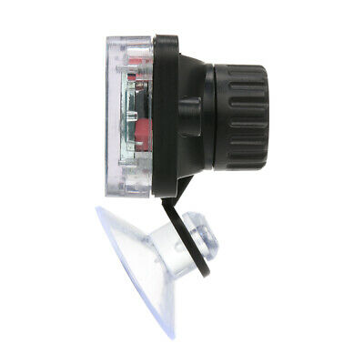 Digital LCD Aquarium Thermometer with Suction Cup Waterproof Mini Indoor C9E6