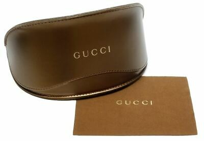 Gucci Soft Sunglass Case in Bronze