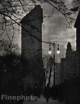 1912 Vintage FLAT-IRON BUILDING New York City Architecture ALVIN LANGDON COBURN