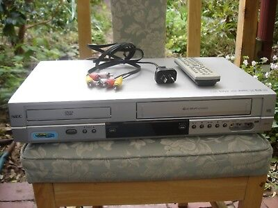NEC NDT-42 DVD player/VCR combo with remote