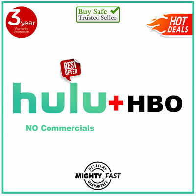 HULU PREMIUM + HBO ADD-ON ✅| 4 YEARS Warranty |Fast Delivery Support