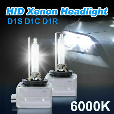 D1R D1S D1C 6000K White HID Xenon Headlight Fog Bulbs Lamp Replacement Lights