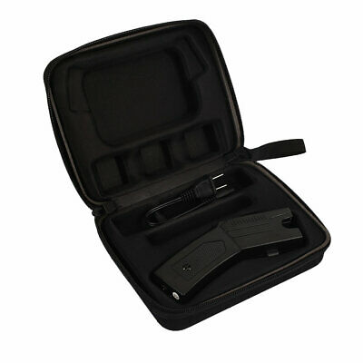 BLACK 80 BV Rechargeable Outdoor Flashlight LED Police Stun Gun + Taser Case