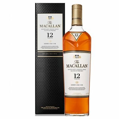 New The Macallan Sherry Oak 12-Year-Old 40% 700 ml