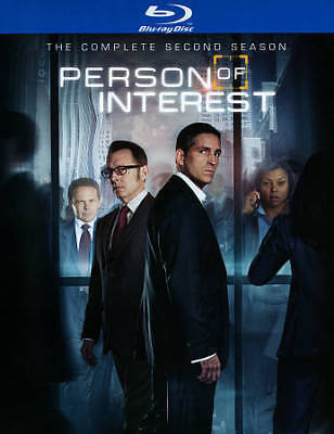 Person of Interest: The Complete Second Series 2 NEW (Blu-ray, 2014, 4-Disc Set)