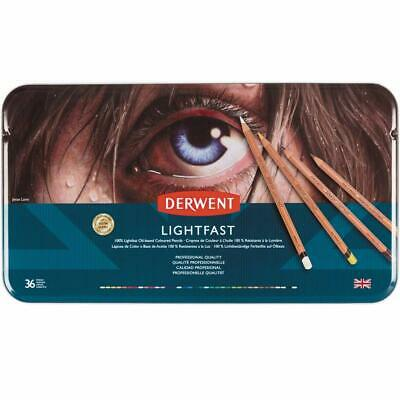 Derwent Lightfast Colored Pencils, for Artist, Drawing, Professional, 36 Pack (2