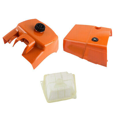 MagiDeal Chainsaw Air Filtre Cylindre Linceul Couvercle Set pour STIHL MS361