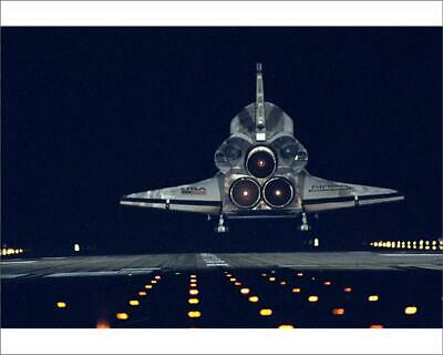 "635511 10""x8"" (25x20cm) Print of STS-72 Landing from Space Images"