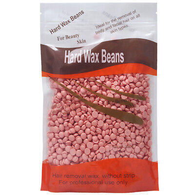MagiDeal Rose Hot Film Hard Wax Beans Pellets Full Body Hair Removal 300g